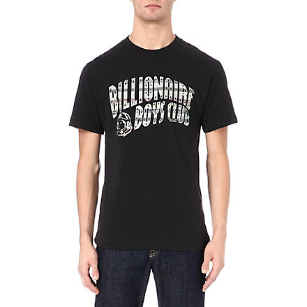 BILLIONAIRE BOYS CLUB Nordic Arch logo t-shirt (Black
