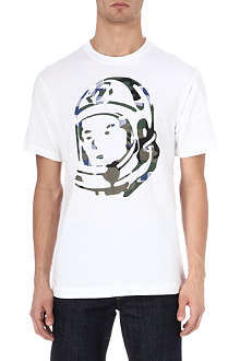 BILLIONAIRE BOYS CLUB Camo helmet t-shirt