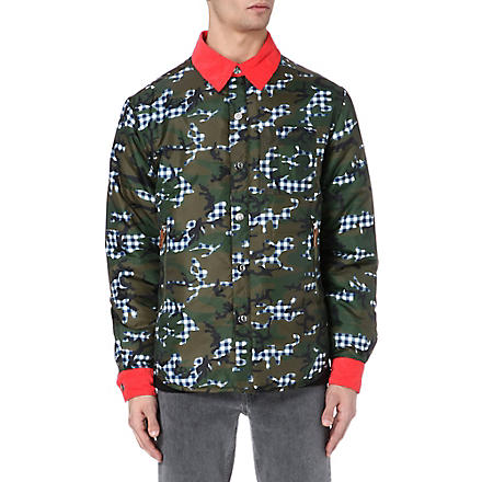 BILLIONAIRE BOYS CLUB Camo overshirt (Camo