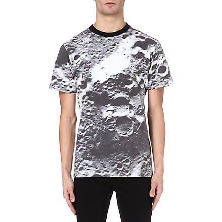BILLIONAIRE BOYS CLUB Lunar Surface t-shirt (White