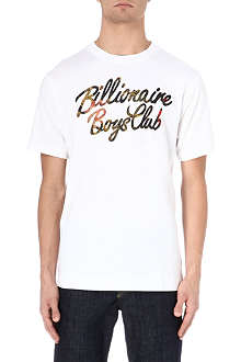 BILLIONAIRE BOYS CLUB Floral galaxy t-shirt