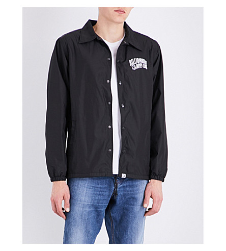 BILLIONAIRE BOYS CLUB Astronaut shell coach jacket (Black