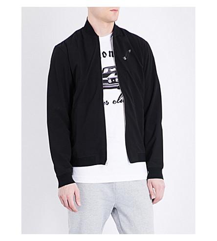 BILLIONAIRE BOYS CLUB Sunseeker shell bomber jacket (Black