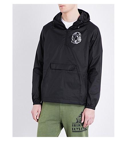 BILLIONAIRE BOYS CLUB Logo-printed shell jacket (Black