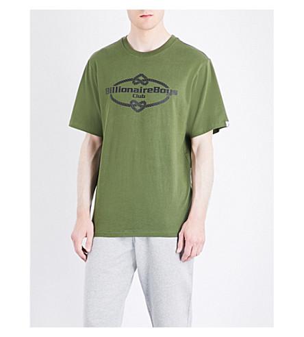 BILLIONAIRE BOYS CLUB Knot Yacht cotton-jersey T-shirt (Olive