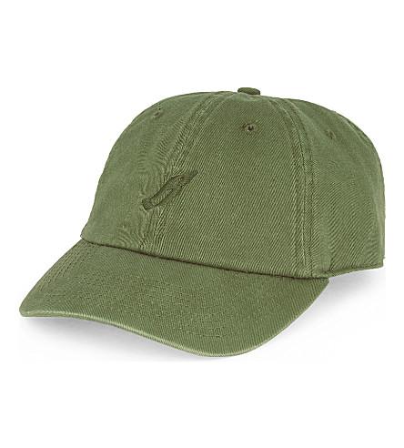 BILLIONAIRE BOYS CLUB Flying B cotton strapback cap (Olive