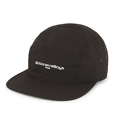 BILLIONAIRE BOYS CLUB Knot nylon five-panel cap (Black
