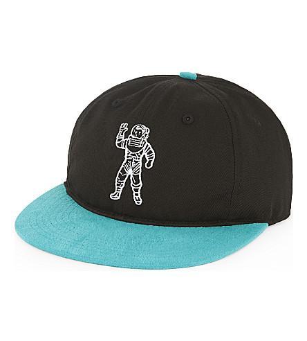 BILLIONAIRE BOYS CLUB Astronaut cotton-blend strapback cap (Black
