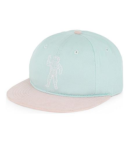 BILLIONAIRE BOYS CLUB Astronaut cotton-blend strapback cap (Mint