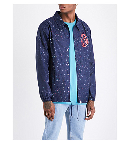 BILLIONAIRE BOYS CLUB Galaxy Coach shell jacket (Navy