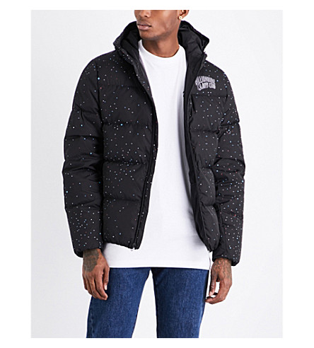BILLIONAIRE BOYS CLUB Galaxy quilted hooded shell jacket (Black