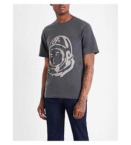 BILLIONAIRE BOYS CLUB Astronaut-print cotton-jersey top (Dk+grey