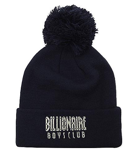 BILLIONAIRE BOYS CLUB Bobble hat (Navy
