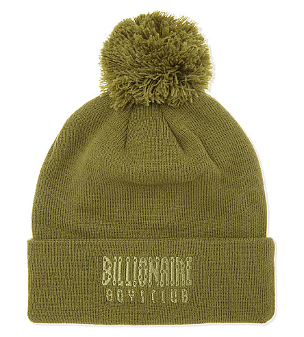 BILLIONAIRE BOYS CLUB Bobble hat (Olive