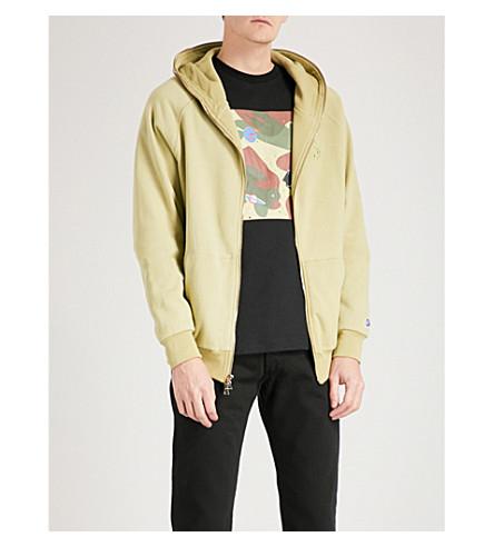 BILLIONAIRE BOYS CLUB Camouflage-print cotton-jersey hoody (Beige