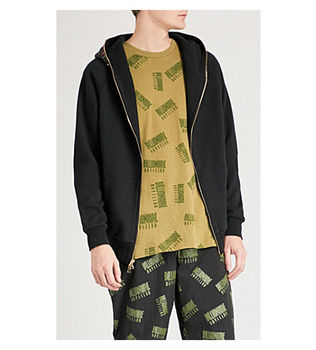 BILLIONAIRE BOYS CLUB Camouflage-print cotton-jersey hoody (Black