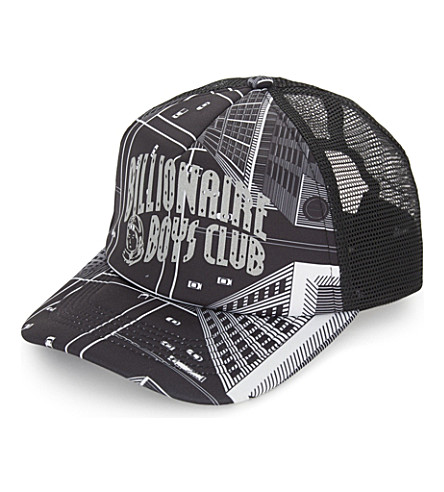 BILLIONAIRE BOYS CLUB Trucker skyscraper cap (Black