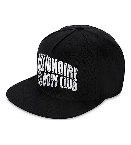 BILLIONAIRE BOYS CLUB Arch Logo snapback cap (Black