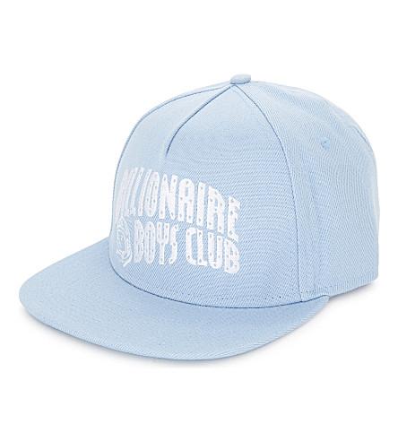 BILLIONAIRE BOYS CLUB Arch Logo snapback cap (Powder blue