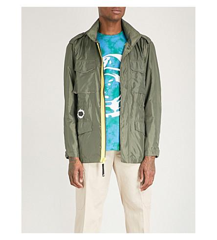 BILLIONAIRE BOYS CLUB Military technical shell jacket (Olive