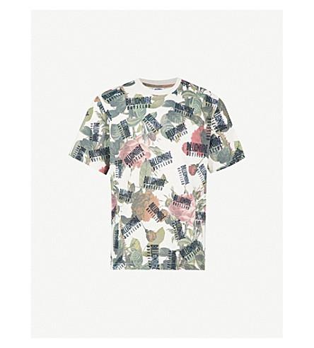 BILLIONAIRE BOYS CLUB Floral-print cotton-jersey T-shirt (Floral