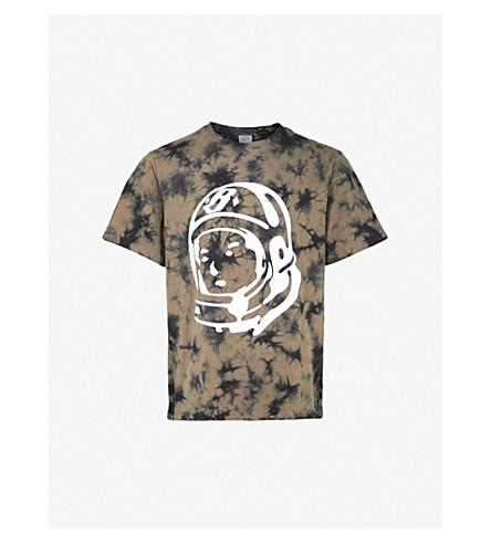 BILLIONAIRE BOYS CLUB Bleached logo-print cotton-jersey T-shirt (Black bleached