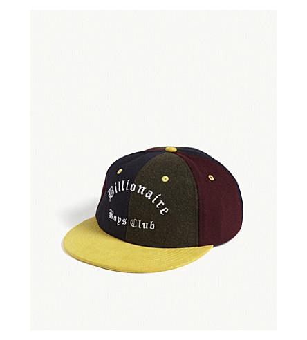 BILLIONAIRE BOYS CLUB Alpha Omega wool strapback cap (Multi