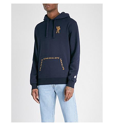 BILLIONAIRE BOYS CLUB The Ideal cotton-jersey hoody (Dress blue