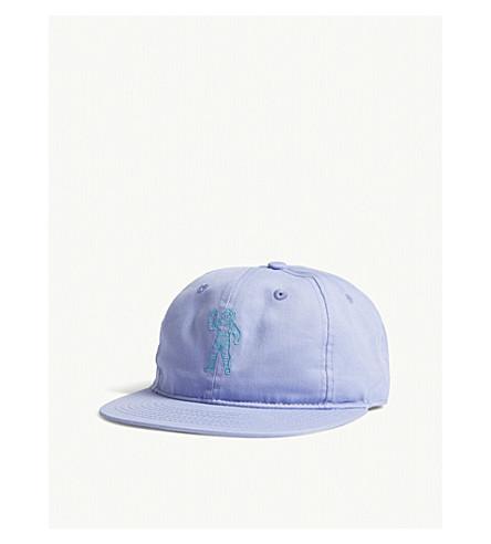 BILLIONAIRE BOYS CLUB Standing Astronaut cotton strapback cap (Violet