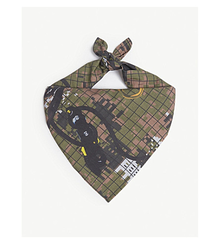 BILLIONAIRE BOYS CLUB Climbing camouflage cotton bandana (Camo