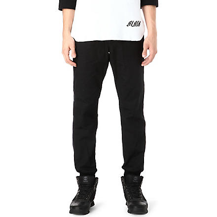 BILLIONAIRE BOYS CLUB Ripstop Higgins trousers (Black