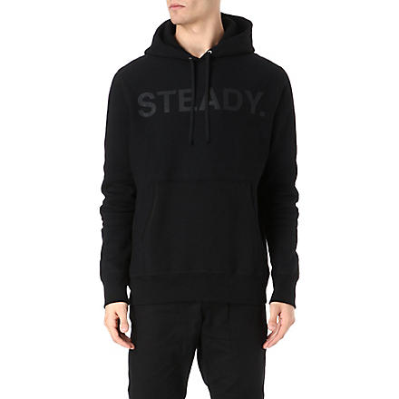 BILLIONAIRE BOYS CLUB Ready Steady Go hoody (Black
