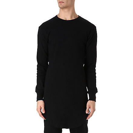 BILLIONAIRE BOYS CLUB Long-sleeved tall top (Black