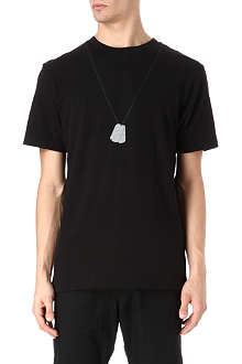 BILLIONAIRE BOYS CLUB Dog tag t-shirt