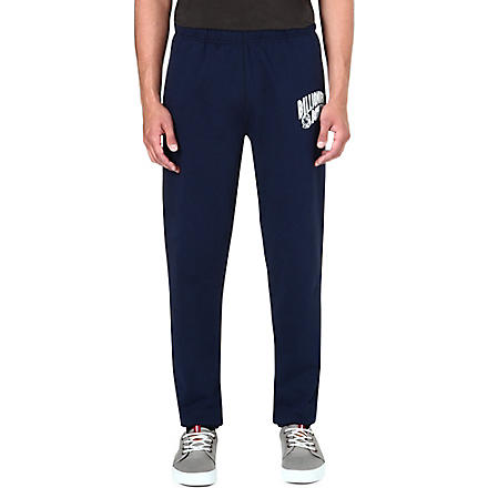 BILLIONAIRE BOYS CLUB Arch logo-print jogging bottoms (Navy/white