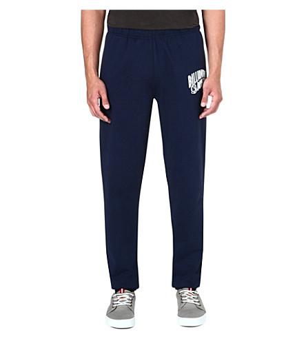 BILLIONAIRE BOYS CLUB Arch logo-print jogging bottoms (Navy/white