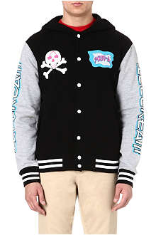 ICE CREAM Ghost varsity jacket