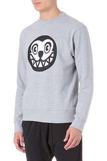 ICE CREAM Dog face sweatshirt