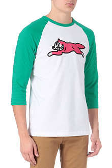 ICE CREAM Running dog baseball top