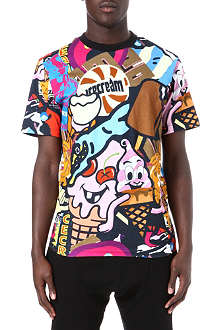 ICE CREAM Mash cotton t-shirt