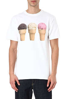 ICE CREAM 3 cones t-shirt