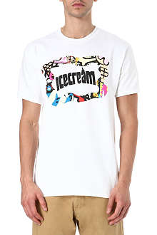 ICE CREAM Mash logo t-shirt