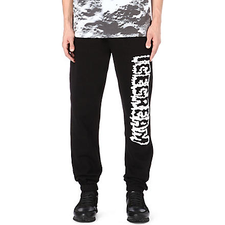 ICE CREAM Fright logo jogging bottoms (Black