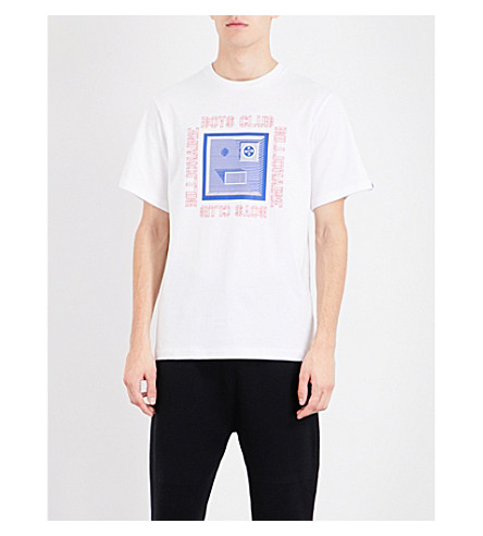 BILLIONAIRE BOYS CLUB Graphic-print cotton-jersey T-shirt (White