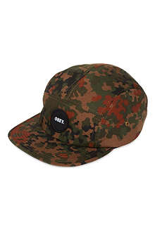 OBEY Circle patch camo cap