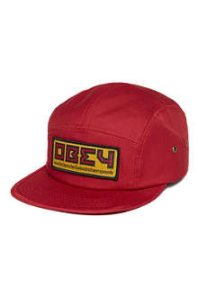 OBEY Five-panel republic cap