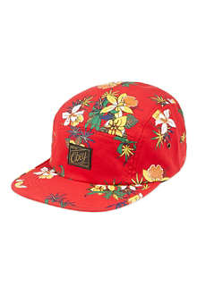 OBEY Floral five-panel cap