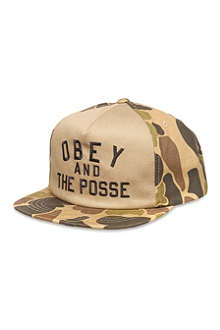 OBEY Obey and the Posse snapback cap