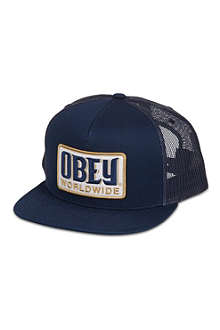 OBEY Worldwide trucker cap
