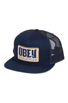 OBEY Worldwide trucker cap